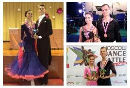 Результаты наших старших танцоров на турнирах 1-2 апреля 2017 года