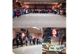 14 - го января 2018 г. прошел официальный зачетный турнир по школе спортивного бального танца Национальной Танцевальной Лиги Dancepride Trophy.