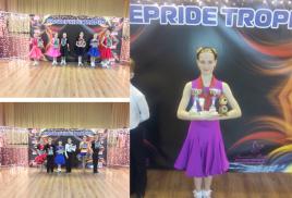 3-го декабря 2017 г. прошел второй турнир серии Dancepride Trophy по школе спортивного бального танца. Это был официальный зачетный турнир Национальной Танцевальной Лиги.