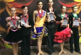 Успехи танцоров нашего клуба 28-го октября на турнире Dancepride Trophy